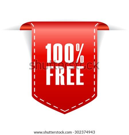 100 free label Stock photo ©