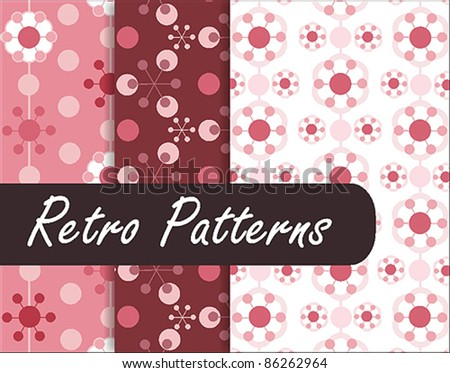 Geometric Retro Patterns