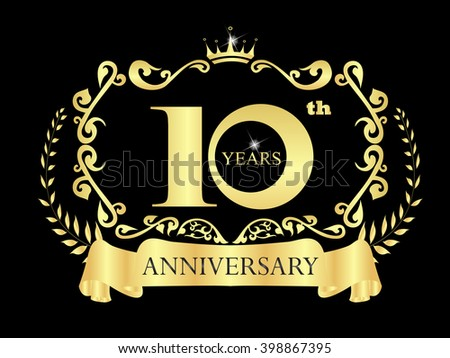 Free vector th anniversary celebration download free vector