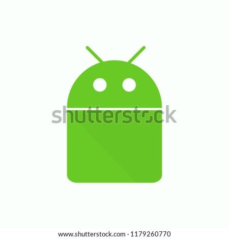 green robot robot icon