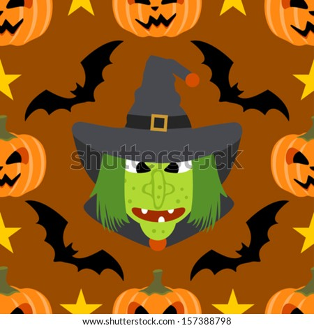 halloween background seamless