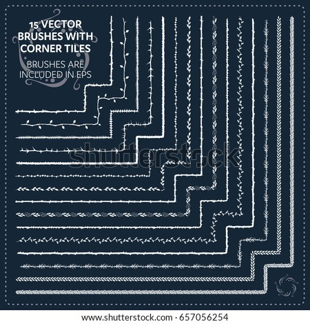 stock-vector--hand-drawn-brushes-with-tiles-vector-brushes-and-borders-adobe-illustrator-eps-brunch-and