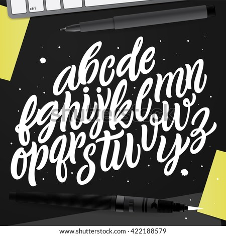 Hand Drawn Lettering and Calligraphy for: Logo, Poster, Card, etc.