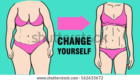 ?hange yourself. Before and after weight loss