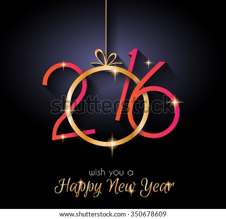 2016 happy new year background for seasonal greetings cards christmas parties flyer dinner event