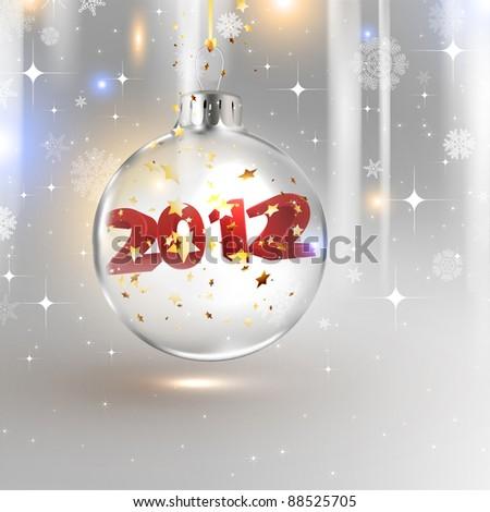 2012 happy new year background