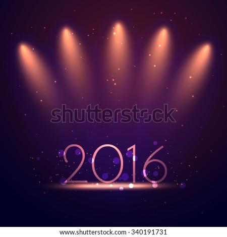 2016 happy new year greeting