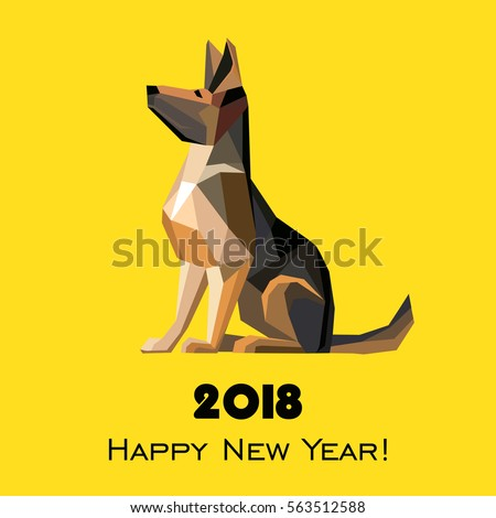2018 happy new year greeting