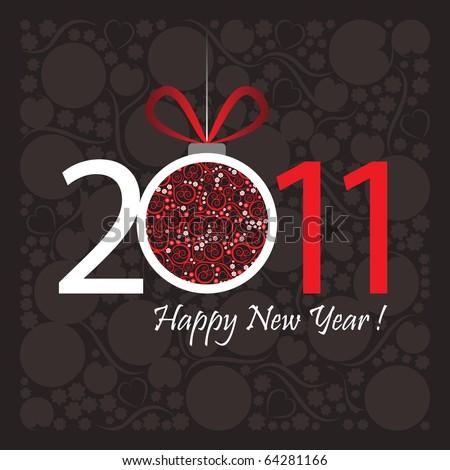 2011 happy new year greeting
