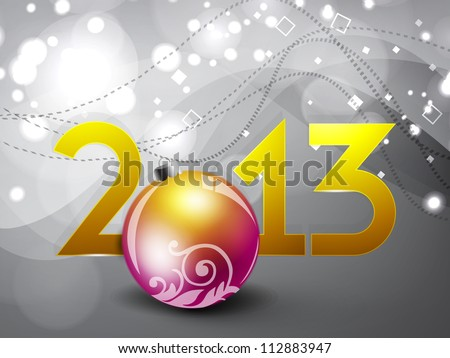 Clipart gray floral business card letter head template business free business cards 2013 on 2013 happy new year greeting card with decorative christmas ball eps reheart Choice Image