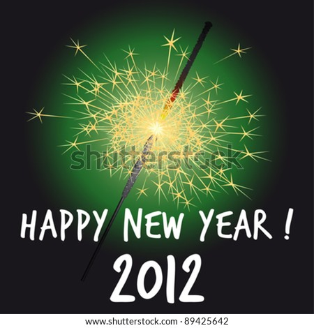 2012 happy new year greeting