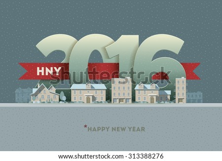 2016 happy new year in town....
