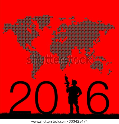 2016 happy new year military