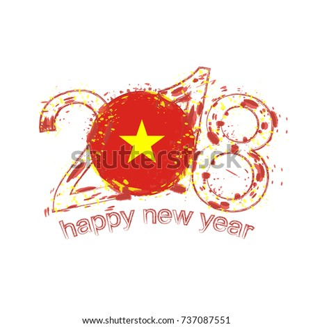 2018 happy new year vietnam
