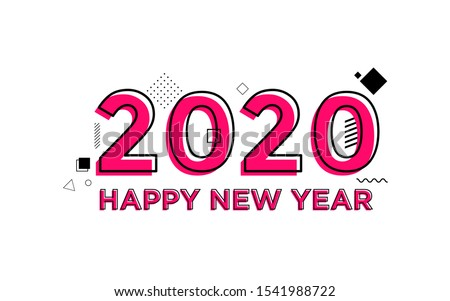 happy new year 2020 with