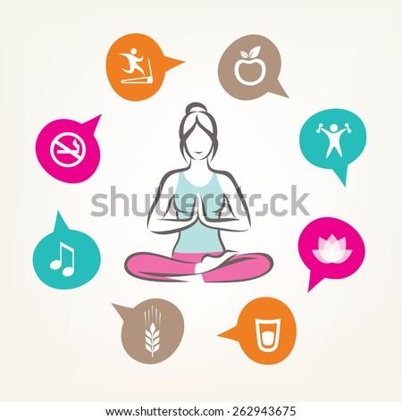 Здоровье и красота символы красоты