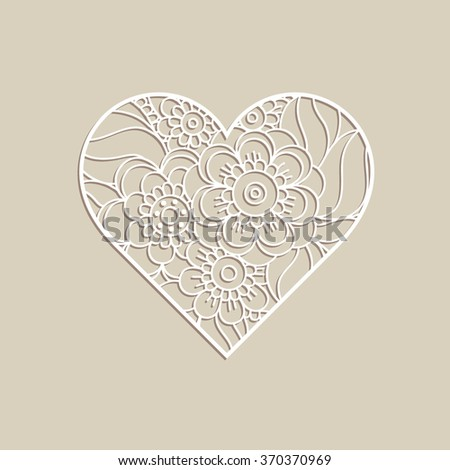 heart shape with hand drawn