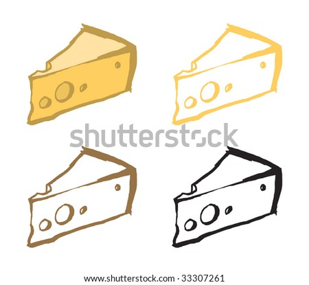 ?heese - stock vector