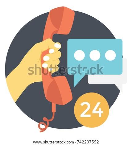 Helpline Vector Icon