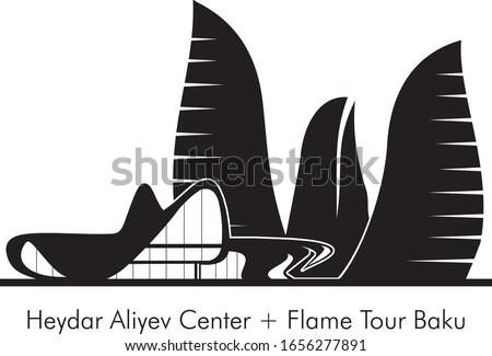 Heydar Aliyev Center + Flame Tour Baku
