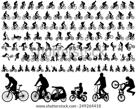 106 high quality bicyclists