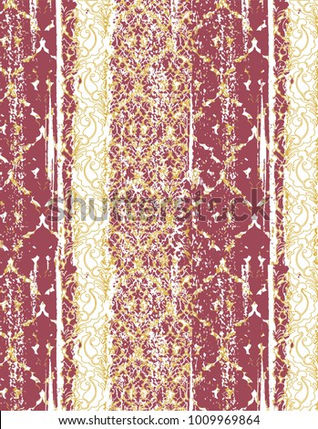 Highly detailed abstract texture or grunge background. For art texture, grunge design, and vintage paper, modern damask pattern for carpet, rug,  scarf, clipboard , shawl pattern. vector