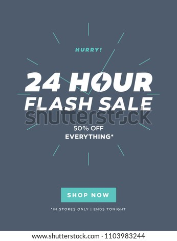 24 hour flash sale limited