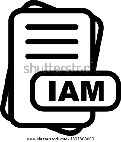 IAM File Format Icon  For Your Project