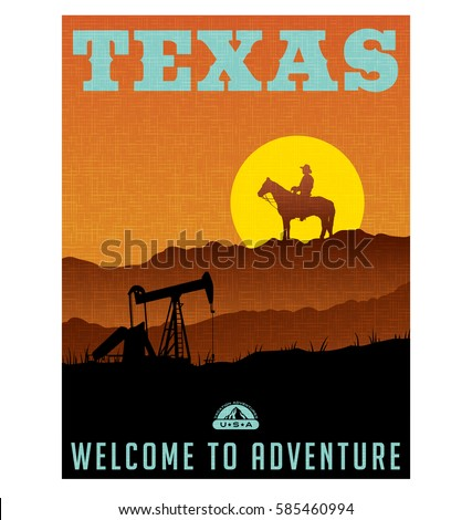 illustrated travel poster or...