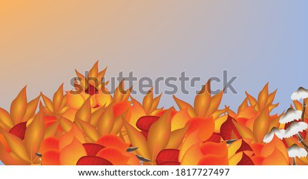 illustration an autumn