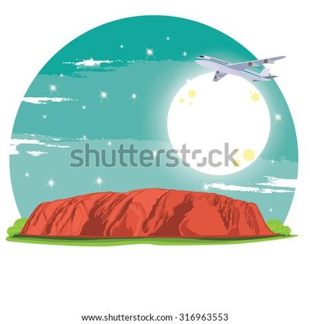 illustration travel to