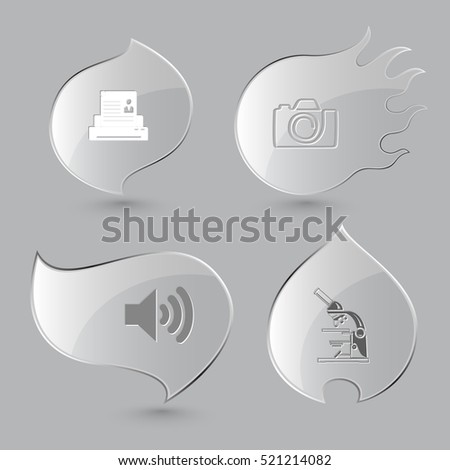 4 images  printer  camera