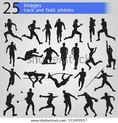 25 images track and field athletes