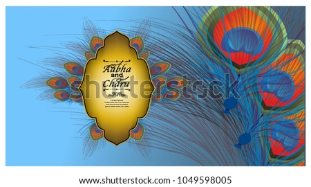 Indian Wedding Card Background - Download Free Vector Art, Stock
