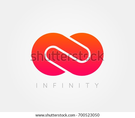 infinity sign, logo, template. design element .Vector illustration
