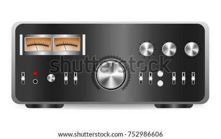 Integrated stereo graphic vector