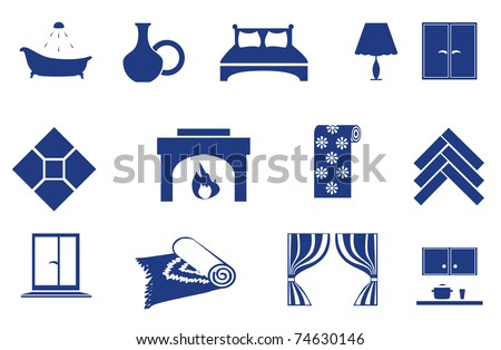 interior  home related icons