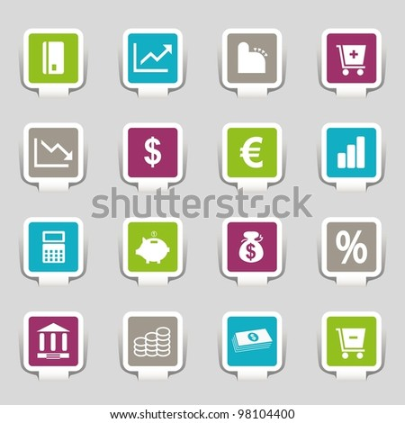16 Internet Icons Money Part 3