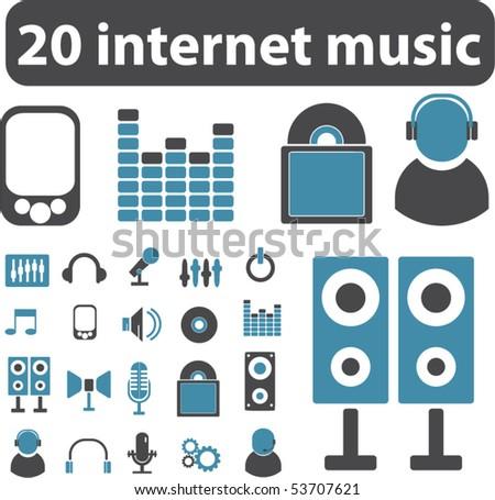images of music signs. images of music signs. stock