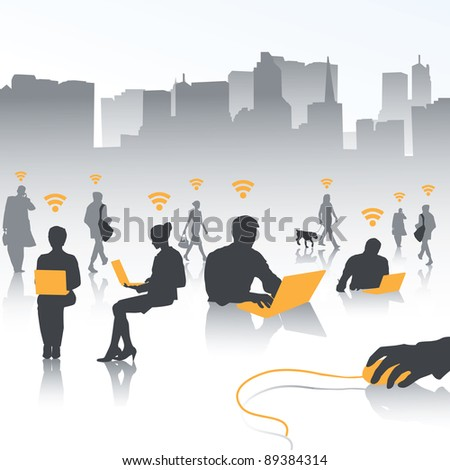 isolate of people in wireless world