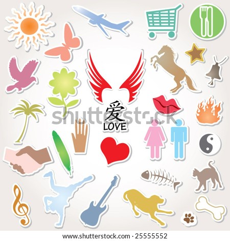30 items with love word in