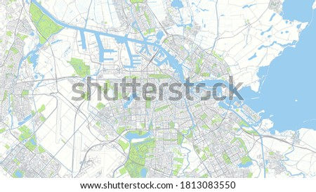 ity map amsterdam  color