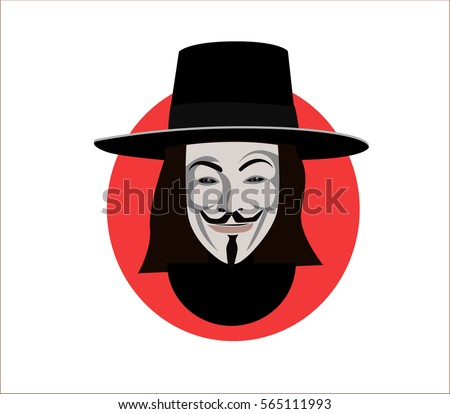 27 jan 2017 anonymous mask flat