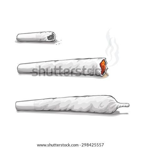 joint or spliff drug