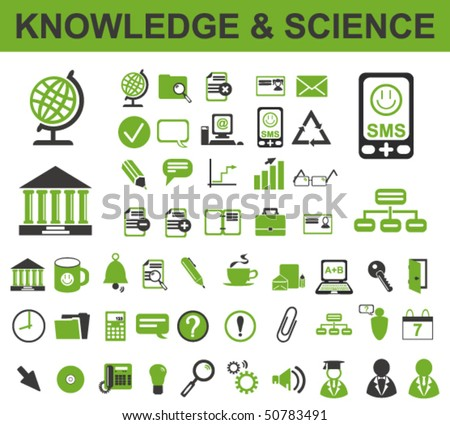 50 Knowledge Icons