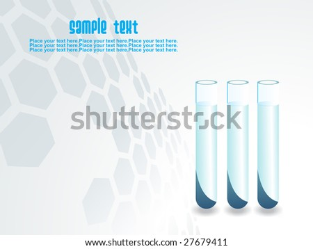 laboratory background with