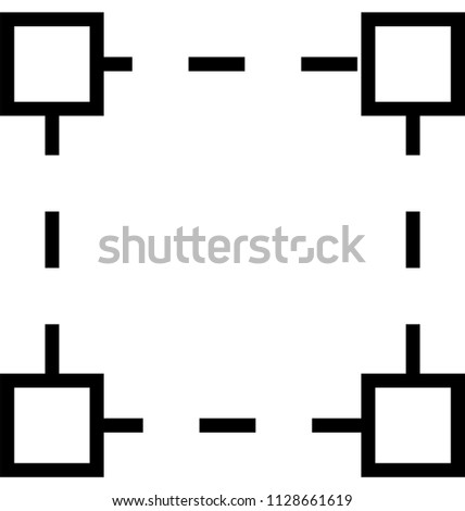 layout selection line vector