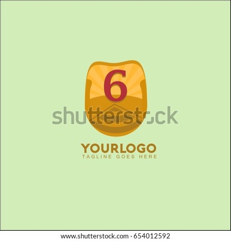 6 letter landscape vector