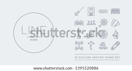 Vector Coil Spring Set - Download Free Vector Art, Stock Graphics