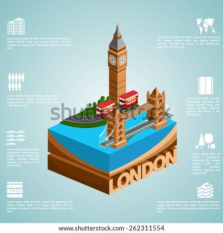 london set of detailed